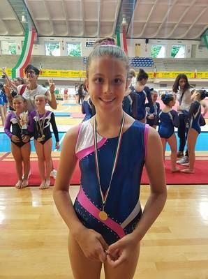 ALESSIA 13 CLASSIFICATA CAMPIONATIITALIANI MINIPRIMA3